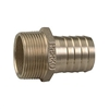 Perko 1-1/4 inch Pipe To Hose Adapter Straight Bronze 0076DP7PLB
