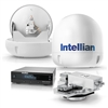 "Intellian i6W 23.6"" HD TV System with Dual Output LNB For Worldwide Coverage (Truck Freight)de Coverage B4-619W2"